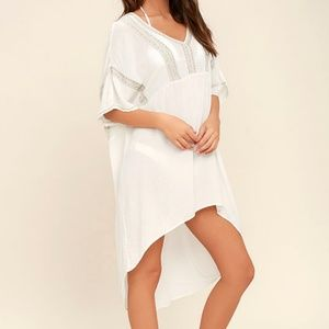 Amuse Society Embroidered Caftan Dress
